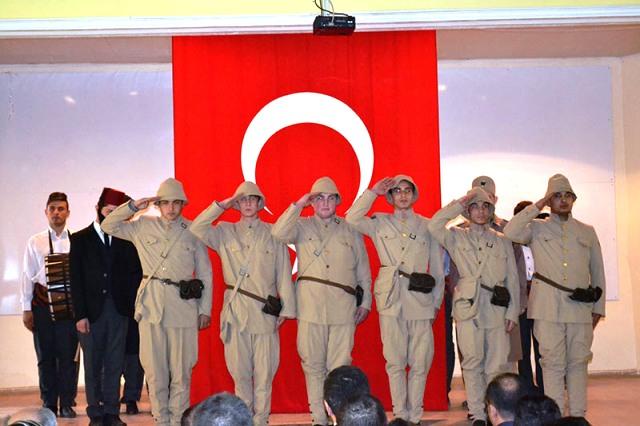 DAZKIRI'DA, 12 MART İSTİKLAL MARŞI'NIN KABULÜ VE MEHMET AKİF ERSOY'U ANMA PROGRAMI