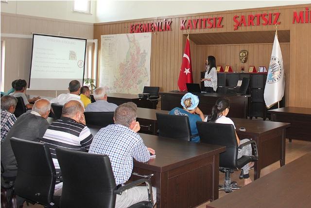 """DİNAR'DA, 35 YÜKÜMLÜYE """"STRESLE BAŞA ÇIKMA"""" YOLLARI ANLATILDI"""