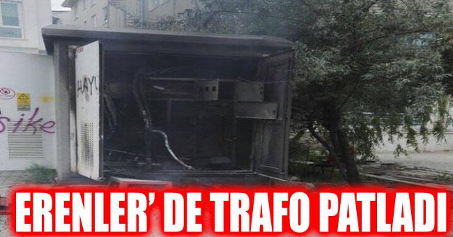 ERENLER' DE TRAFO PATLADI