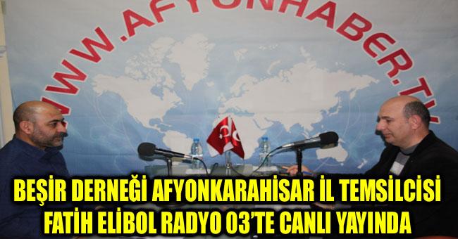FATİH ELİBOL RADYO 03'TE CANLI YAYINDA