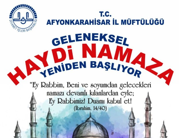 GELENEKSEL ' HAYDİ ÇOCUKLAR NAMAZA 'PROĞRAMI