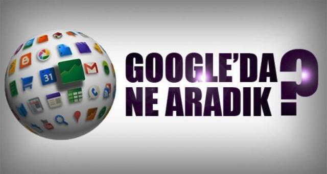 GOOGLE'DA EN FAZLA NELERİ ARADIK