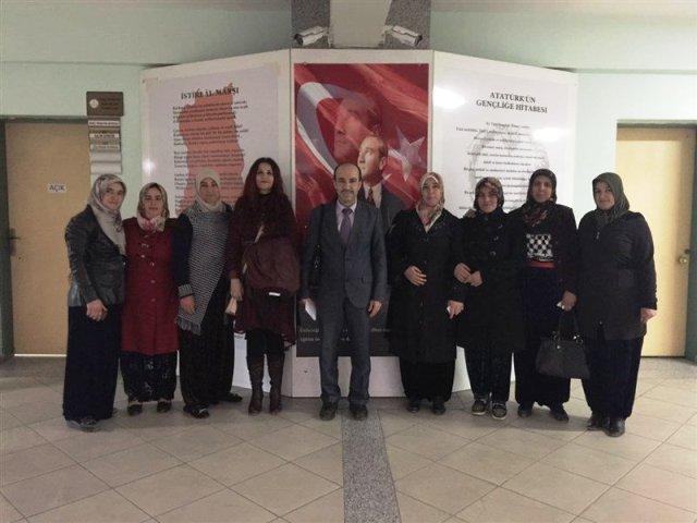 IŞIKLAR ANADOLU'DA KADIN OLMAK TİYATRO GRUBUNDAN YALÇIN'A ZİYARET