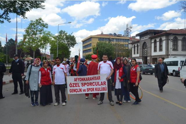 KARAHİSAR GENÇLİK MERKEZİ ENGELLİLER FESTİVALİNDE