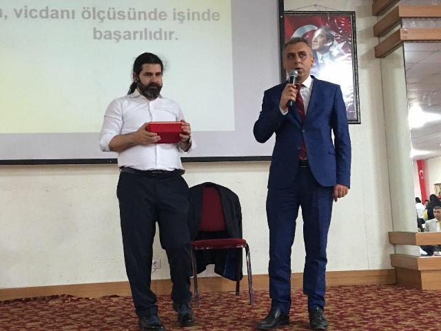 PSİKOLOG EĞİTİM UZMANI ÖZKAN ŞENOL DİNAR'DA