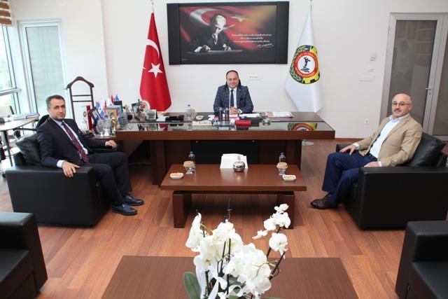TSE KONYA KOORDİNATÖRÜ DEMİRTAŞ, SERTESER'İ ZİYARET ETTİ