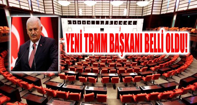 YENİ TBMM BAŞKANI BELLİ OLDU!