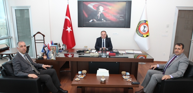 PTT'DEN ATSO'YA ZİYARET