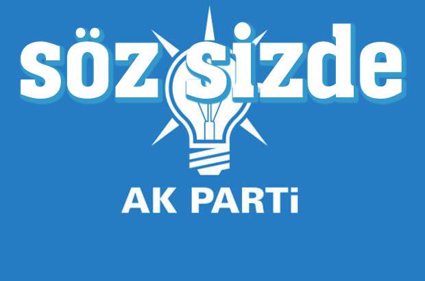 SİZCE AK PARTİ'NİN ADAY LİSTESİ NASIL OLACAK?..