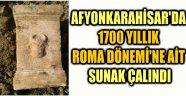 1700 YILLIK ROMA DÖNEMİ'NE AİT SUNAK ÇALINDI