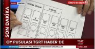 24 HAZİRAN'DA KULLANILACAK OY PUSULASI İLK KEZ TGRT HABER'DE