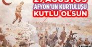 27 AĞUSTOS AFYONKARAHİSAR'IN KURTULUŞU KUTLU OLSUN!..