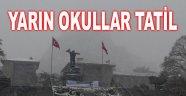 AFYON MERKEZ'DE OKULLAR YARIN (PERŞEMBE) TATİL!..