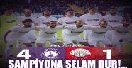 AFJET AFYONSPOR 4 - 1 Ankara Adliyespor