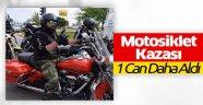 ISPARTA-AFYON YOLUNDA MOTOSİKLET KAZASI