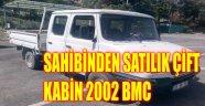 SAHİBİNDEN SATILIK ÇİFT KABİN 2002 BMC