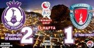 AFJET AFYONSPOR 2- SANCAKTEPE BELEDİYESPOR 1