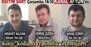 KODLAMA VE ROBOTİK MERAKLILARI EKRAN BAŞINA!..