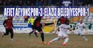 AFJET AFYONSPOR-2  ELAZİZ BELEDİYESPOR-1