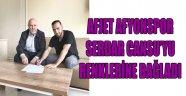 AFJET AFYONSPOR SERDAR CANSU'YU RENKLERİNE BAĞLADI