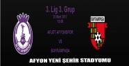 AFJET AFYONSPOR  VS BAYRAMPAŞA