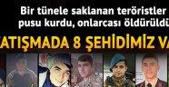 AFRİN'DEN ACI HABER, 8 ŞEHİDİMİZ VAR
