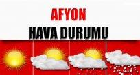 AFYON HAVA DURUMU