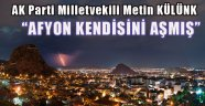 """""""AFYON TÜRKİYE'NİN YILDIZI OLDU"""""""