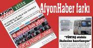 AFYONHABER ÖZEL HABER FARKI!.. YÜNTAŞ İHALEYE HAZIRLANIYOR