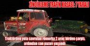 AFYONKARAHİSAR'DA ZİNCİRLEME TRAFİK KAZASI: 7 YARALI