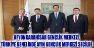 AFYONKARAHİSAR GENÇLİK MERKEZİ ANKARA'YA DAVET EDİLDİ