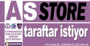 AFYONKARAHİSAR SPOR TARAFTARI ASSTORE İSTİYOR!..