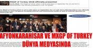 AFYONKARAHİSAR VE MXGP OF TURKEY DÜNYA MEDYASINDA