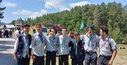 AFYONKARAHİSARLI İZCİLER, BOLU ALADAĞLAR'DA KAMP YAPTI