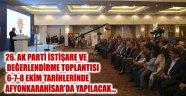 AK PARTİ İSTİŞARE VE DEĞERLENDİRME TOPLANTILARININ DEĞİŞMEZ ADRESİ AFYONKARAHİSAR…