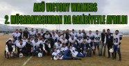 AKÜ VICTORY WALKERS 2. MÜSABAKASINDAN DA GALİBİYETLE AYRILDI