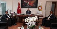 """BALKANLIOĞLU'NDAN """"HAYIRLI OLSUN"""" ZİYARETİ"""