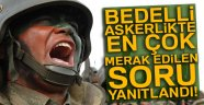 BEDELLİ ASKERLİK TEKLİFİ MECLİS'TE!