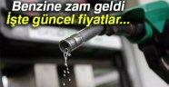 BENZİNE ZAM GELDİ
