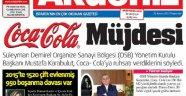 COCA COLA, ISPARTA'YA İÇECEK FABRİKASI KURUYOR