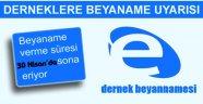 DERNEKLERİN DİKKATİNE !!!!