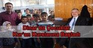 DİNAR' DA ÇOCUKLAR KUR'AN KURSUNA BAŞLADI