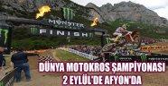 DÜNYA MOTOKROS ŞAMPİYONASI 2 EYLÜL'DE AFYON'DA