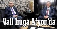 EMEKLİ VALİ İMGA'DAN BAŞKAN ÇOBAN'A ZİYARET