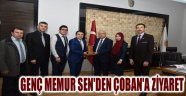 GENÇ MEMUR SEN'DEN ÇOBAN'A ZİYARET