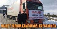 HALEP'E YARDIM KAMPANYASI KAPSAMINDA BİR TIR DOLUSU YUMURTA GÖNDERDİ