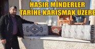 HASIR MİNDERLER TARİHE KARIŞMAK ÜZERE