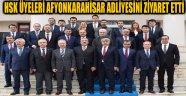 HSK ÜYELERİ AFYONKARAHİSAR ADLİYESİNİ ZİYARET ETTİ