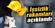 İŞSİZLİK ORANLARI AÇIKLANDI !