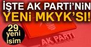 İŞTE AK PARTİ'NİN YENİ MYK'SI!..